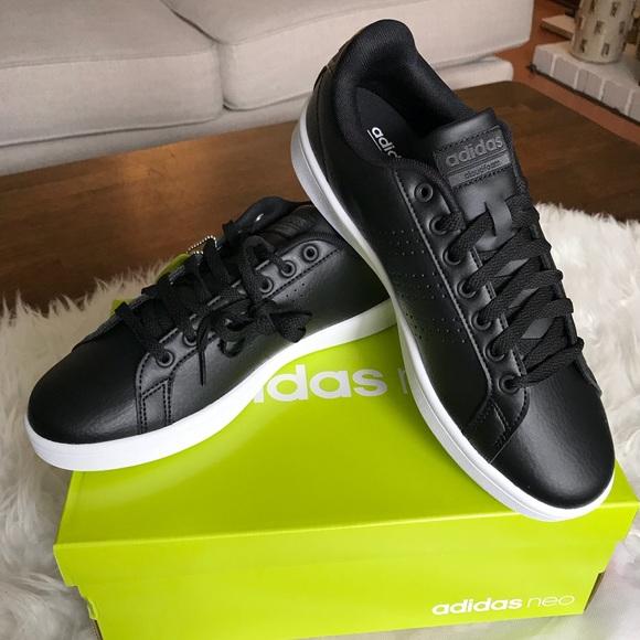 048a16875d5a Adidas Neo Cloudfoam Advantage Clean Court Shoe